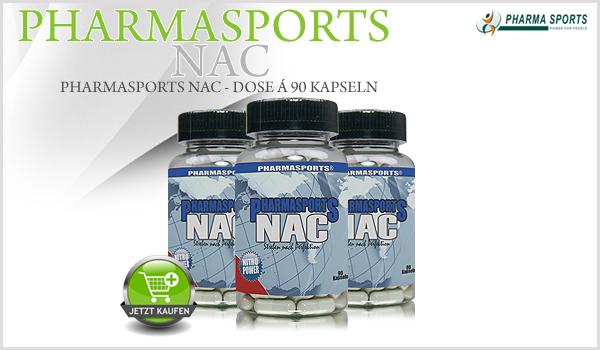 Pharmasports NAC - Dose á 90 Kapseln
