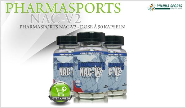 Pharmasports NAC-V2 - Dose á 90 Kapseln