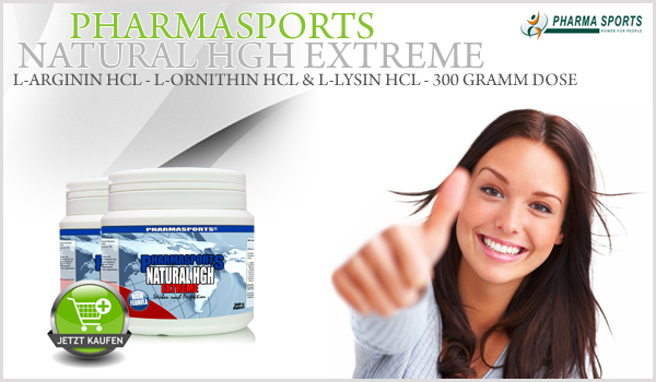 Pharmasports Natural HGH Extreme - 300 Gramm Dose