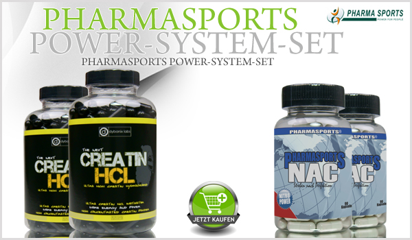 NEU, NEU, NEU - Das Pharmasports Power-System-Set!