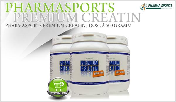 Pharmasports Premium Creatin - Dose á 500 Gramm