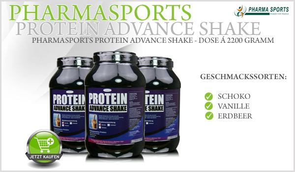 Pharmasports Protein Advance Shake - Dose á 2200 Gramm
