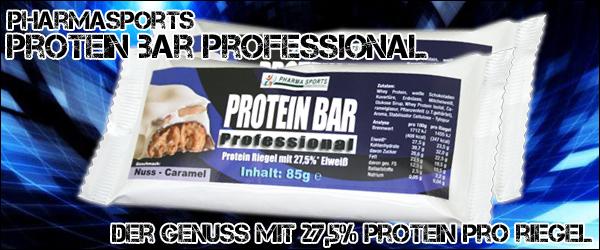 Pharmasports Protein Bar Professional zur Proteinversorgung - Protein Riegel