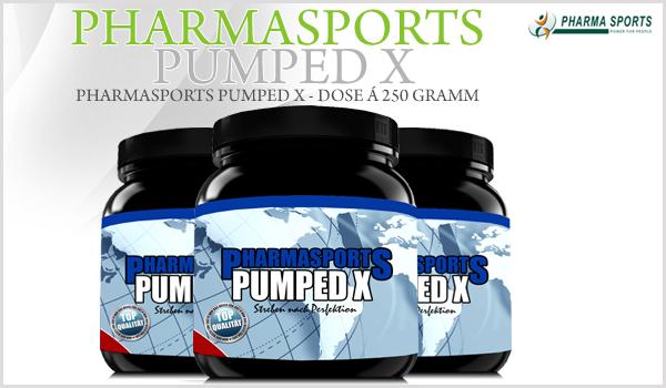 Pharmasports Pumped X - Dose á 250 Gramm