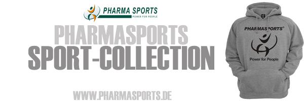 Pharmasports Sport-Collection für ein sportliches Auftreten