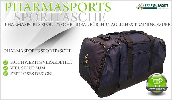 Pharmasports Sporttasche – Das ideale Trainingszubehör!