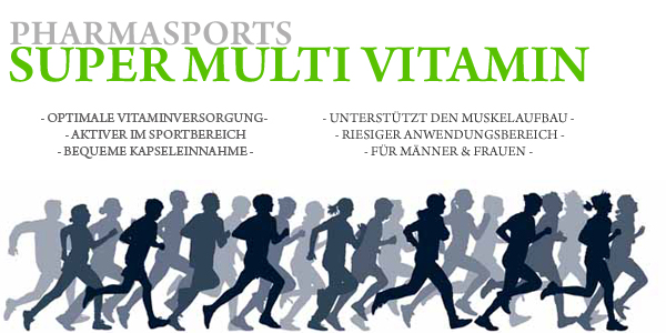 Pharmasports Super Multi Vitamin - optimale Vitaminversorgung