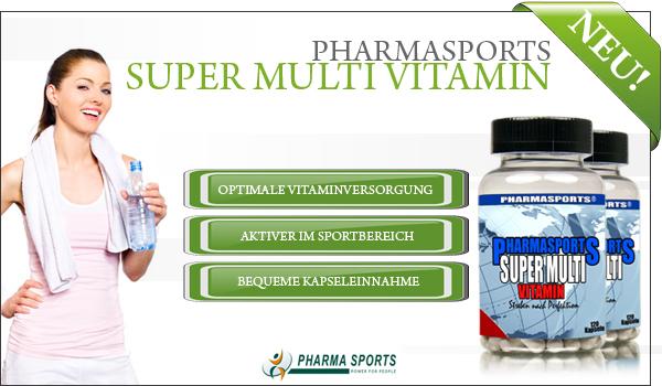 Neu bei Pharmasports: Pharmasports Super Multi Vitamin