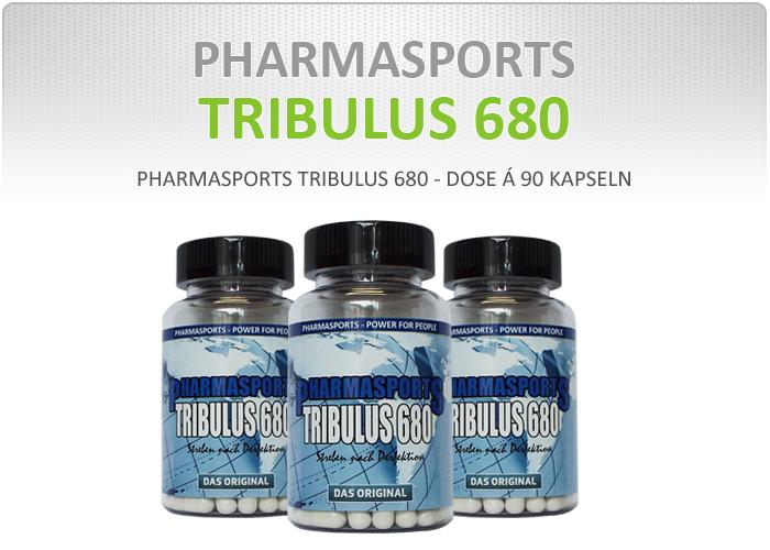 Pharmasports Tribulus 680 - Dose á 90 Kapseln