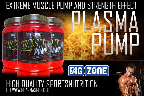 Big Zone Plasma Pump und das Training kann beginnen!