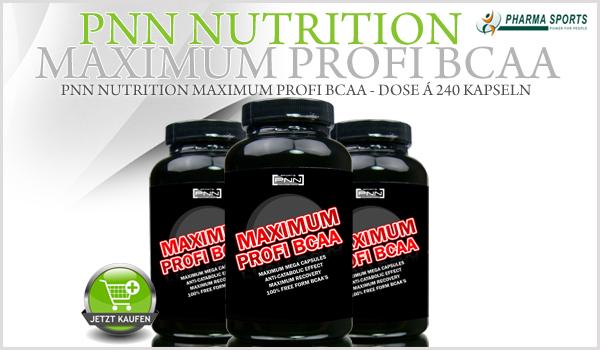 Das nächste PNN Nutrition bei Pharmasports erhältlich - PNN Nutrition Maximum Profi BCAA