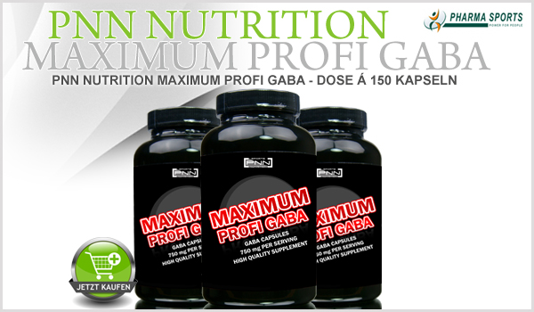 Das nächste PNN Nutrition Supplement bei Pharmasports - PNN Nutrition Maximum Profi Gaba