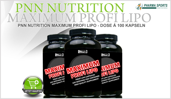 PNN Nutrition Maximum Profi Lipo - Dose á 100 Kapseln