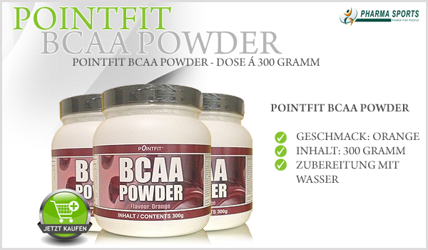 Pointfit BCAA Powder - Dose á 300 Gramm