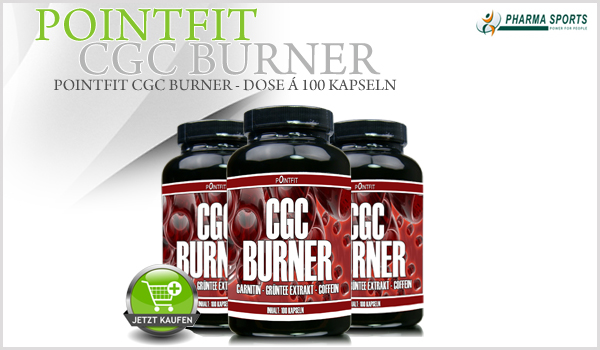 PointFit CGC Burner bei Pharmasports - Dose á 100 Kapseln