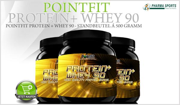 Neu bei Pharmasports - PointFit Protein + Whey 90!