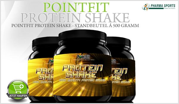 PointFit Protein Shake neu in der Protein Auswahl bei Pharmasports
