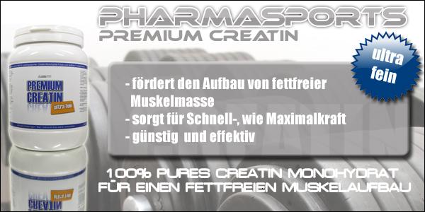 Qualitäts Creatin der Firma Pharmasports