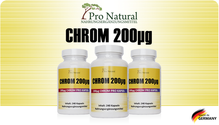 Pro Natural Chrome 200µg