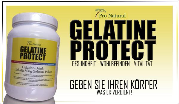 Pro Natural Gelatine Protect für eine optimale Versorgung
