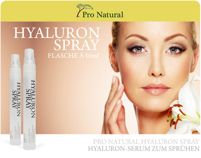 Pro Natural Hyaluron Spray - Fläschchen á 10 ml