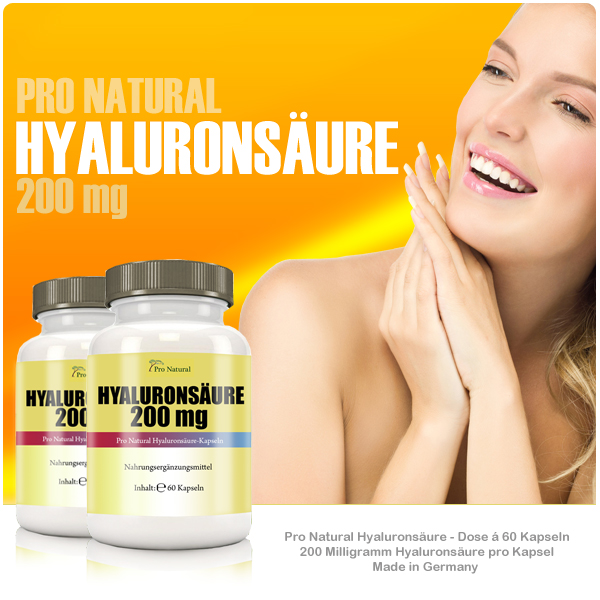 Pro Natural Hyaluronsäure 200mg bei Pharmasports