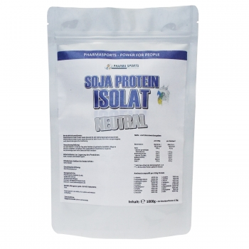Pharmasports Soja Protein Isolat Neutral