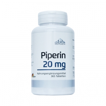 Bergen Piperin 20 mg