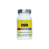 Pro Natural Eisen – 180 Tabletten