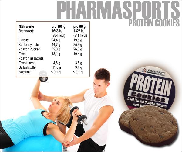 Pharmasports Protein Cookies - die ideale Proteinquelle!
