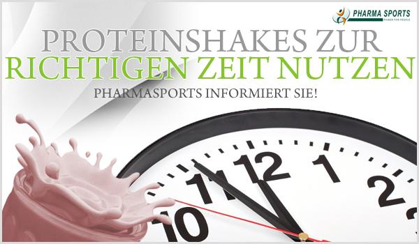 Proteinshakes – das richtige Protein zur richtigen Zeit