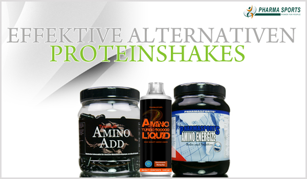 Alternativen zu Proteinshakes bei Pharmasports
