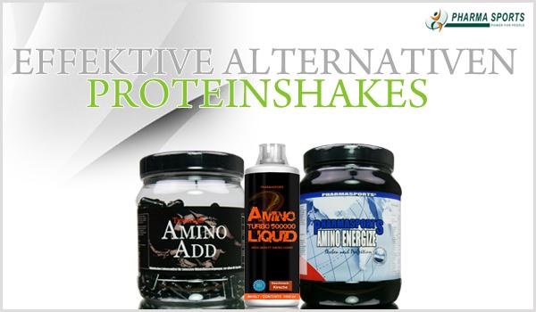Effektive Alternativen zu Proteinshakes