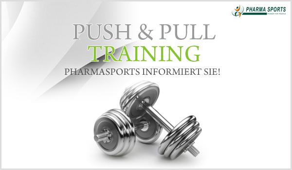 Push & Pull Training bei Pharmasports