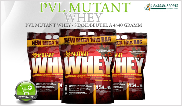 PVL Mutant Whey ab sofort bei Pharmasports zum Top-Preis!