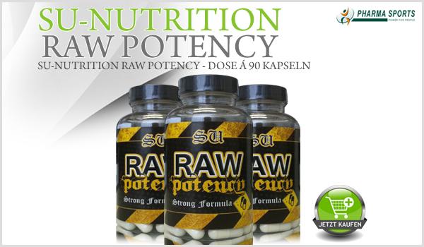SU-Nutrition Raw Potency - Alles andere sind nur einfache Supplemente!