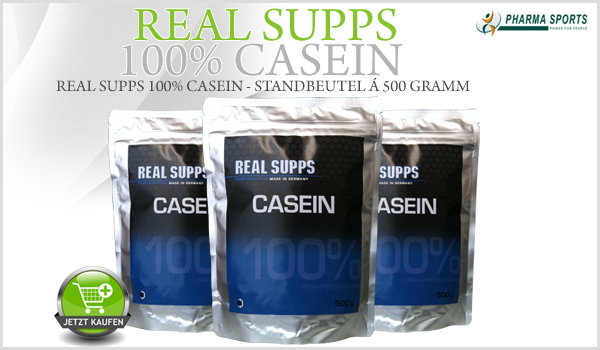 Real Supps 100% Casein bei Pharmasports