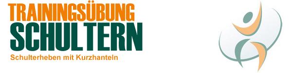Trainingsübung Schultern - Übung Schulterheben mit Kurzhanteln