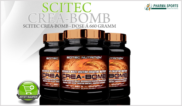 Scitec Crea-Bomb – Multi-Component Creatine Matrix