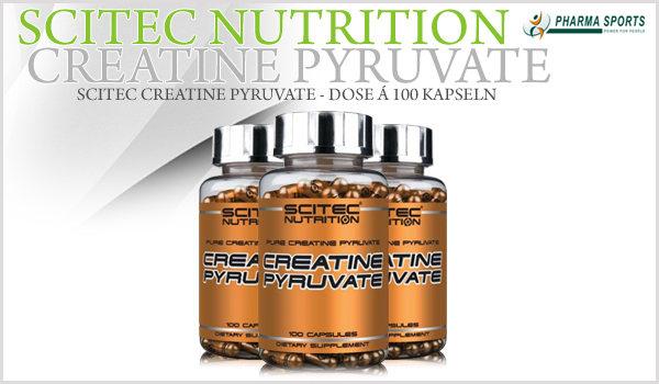 Scitec Creatine Pyruvate nun auch bei Pharmasports