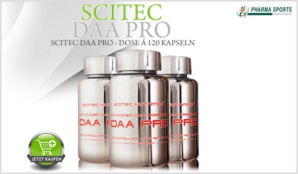 Scitec DAA Pro - überarbeitete Version des Scitec D-Test