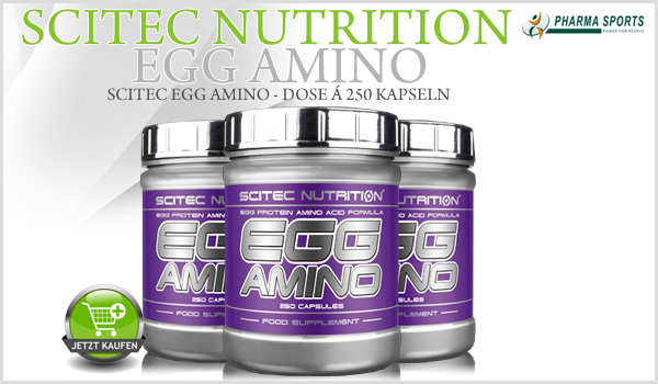 Scitec Egg Amino an sofort nun auch bei Pharmasports