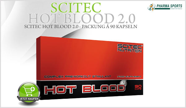Scitec Hot Blood 2.0 ab sofort bei Pharmasports