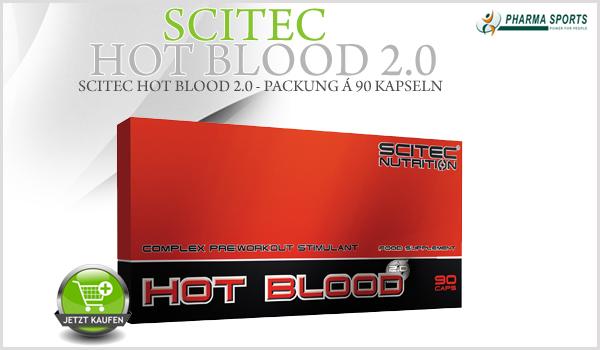 Scitec HOT BLOOD 2.0 - Pre-Workout stimulierender Komplex für jedermann