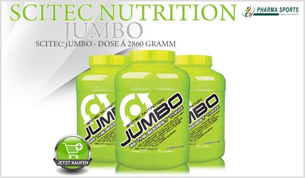 "Scitec Jumbo - ""JUMBO bedeutet GROSS! JUMBO bedeutet STARK!"""