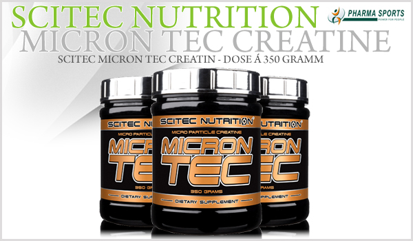 Scitec Micron Tec Creatine für eine gute Creatinversorgung