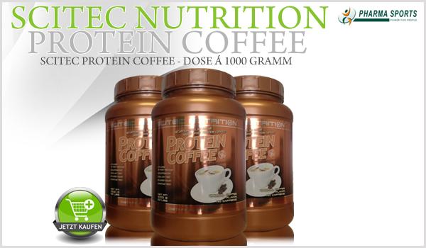 Scitec Protein Coffee ab jetzt in der 1 Kilogramm Dose!