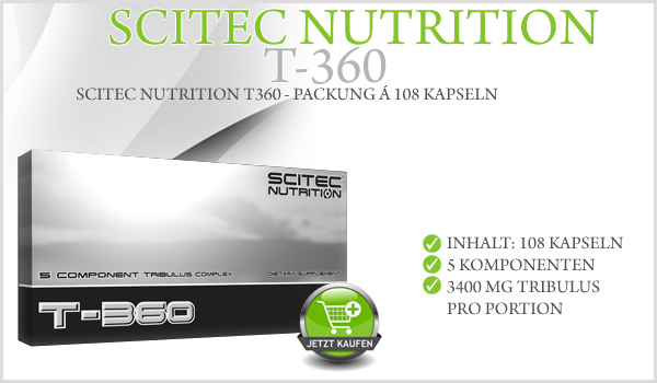 Scitec T-360 - Packung á 108 Kapseln