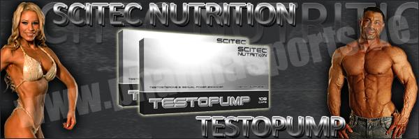 Scitec Testopump zum Muskelaufbau