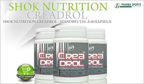 Shok Nutrition Creadrol - Standbeutel á 60 Kapseln